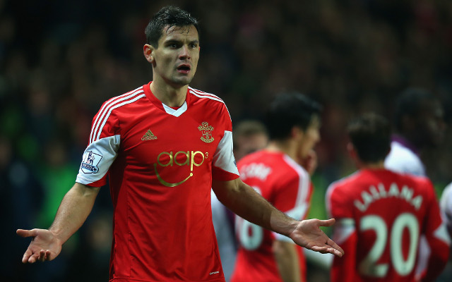 Boost for Liverpool and Tottenham as Dejan Lovren hands in transfer request