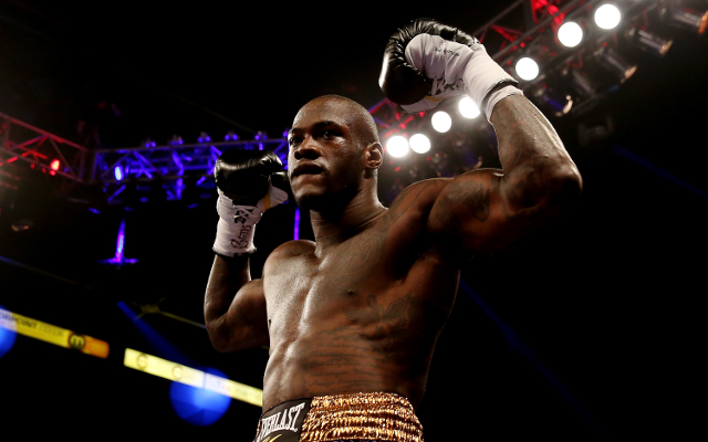 (Image) Deontay Wilder fires back at Mike Tyson and has message for critics