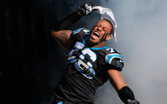 Carolina Panthers give Greg Hardy their franchise tag for next season