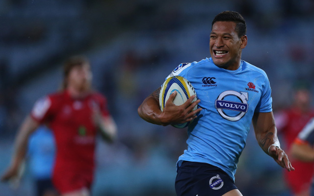 Israel Folau says he is not signing with any NRL clubs in 2015