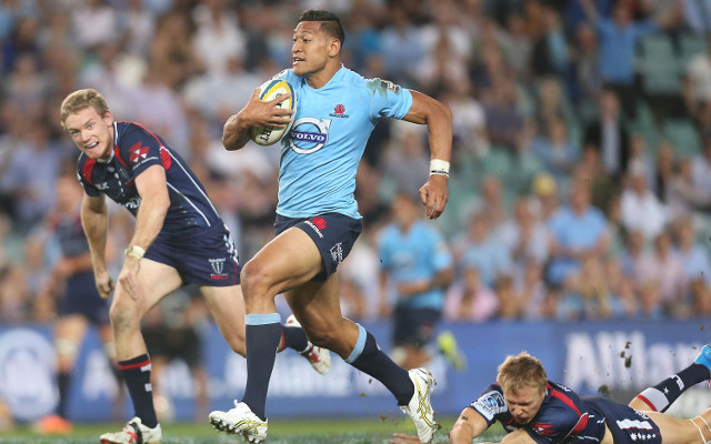 Israel Folau cleared to fly to South Africa with NSW Waratahs