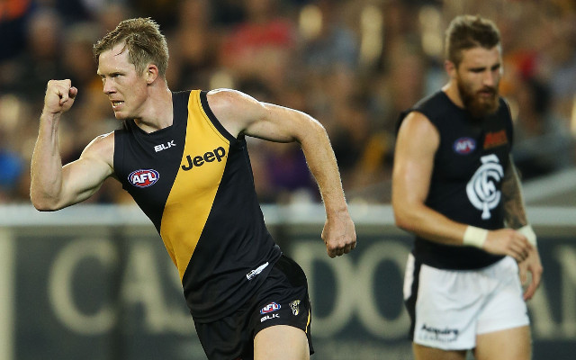 Carlton Blues v Richmond Tigers: AFL live scores, highlights – match report