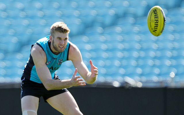 Young-gun Jackson Trengove re-signs with AFL club Port Adelaide