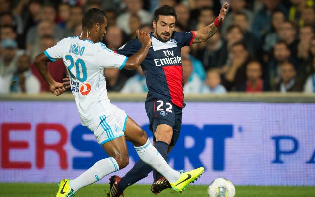 Jacques-Alaixys Romao Marseille Ezequiel Lavezzi PSG