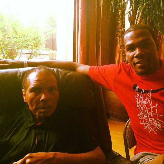 Kevin Durant Muhammad Ali
