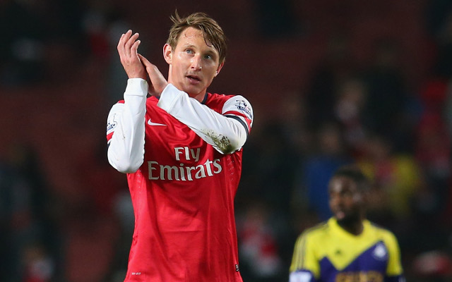 Arsenal are bizarrely looking to re-sign former midfielder