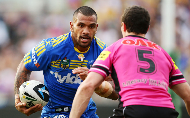 (Video) Try! Parramatta Eel Manu Ma'u scores an amazing try
