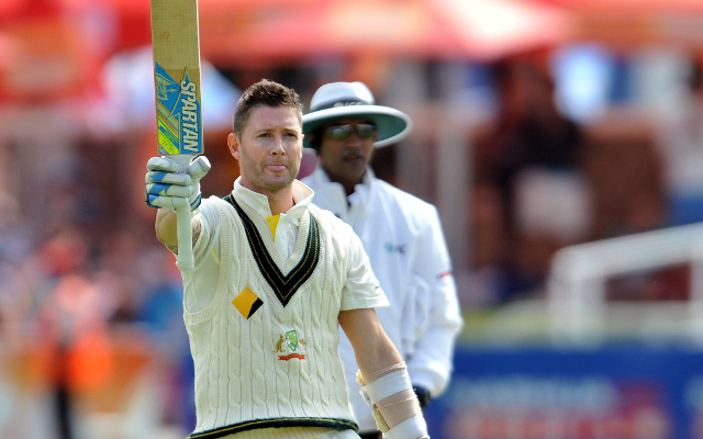 (Image) Australian cricket captain Michael Clarke launches academy