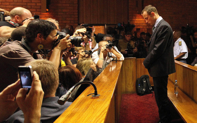 Paralympic sprinter Oscar Pistorius sentenced to five-years in prison