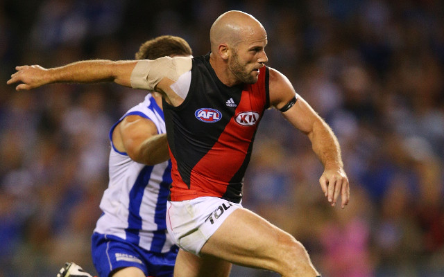 (Video) AFL Round 23 Mark of the Year nominations: Fremantle and Essendon stars take huge grabs