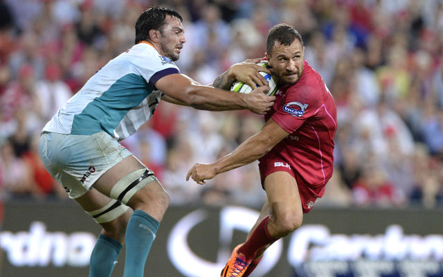 Queensland Reds v Central Cheetahs: Super 15 rugby live scores, highlights – report