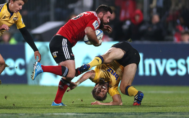 Wellington Hurricanes v Canterbury Crusaders: Super 15 rugby, highlights – match report