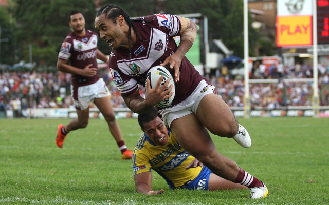 Manly Sea Eagles trying to re-sign Steve Matai until 2017