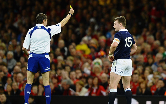 Stuart Hogg says sorry for send-off in Six Nations loss to Wales