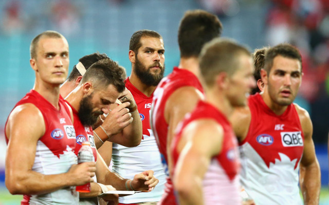 "Former Sydney Swans star says forward line is ""horrendous"" & calls Lance Franklin a distraction"