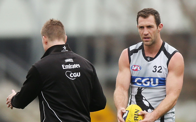 "Collingwood Magpies star forward Travis Cloke was ""disgusted"" with his form in 2013"