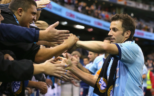 Alessandro Del Piero to leave A-League and Sydney FC after contract talks break down