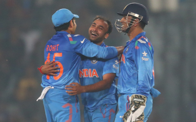 (Video) India v West Indies – Mishra and Raina combine for world-class catch