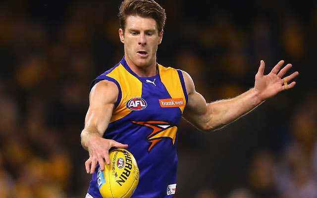 West Coast Eagles star Beau Waters out for the season with shoulder injury