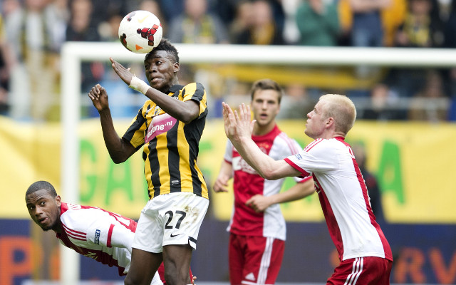 (Video) Chelsea wonderkid Bertrand Traore scores another great goal for loan club Vitesse