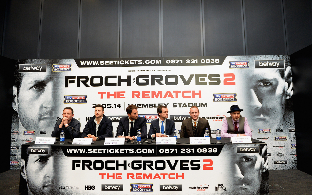(Video) Carl Froch vs George Groves II: live streaming of final press conference from Wembley