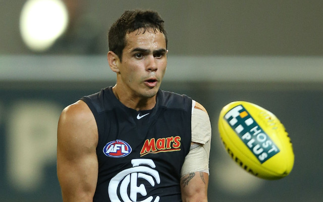 Carlton forward Jeff Garlett charged by police over CBD brawl
