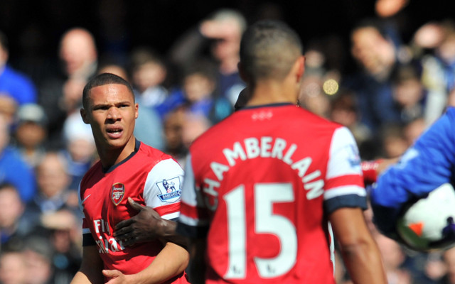 Amazing: the FA again confuse Arsenal pair Kieran Gibbs and Alex Oxlade-Chamberlain