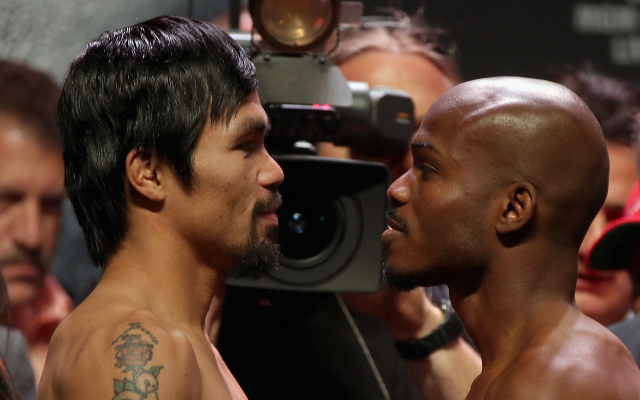 Manny Pacquiao inflicts first career defeat on Timothy Bradley
