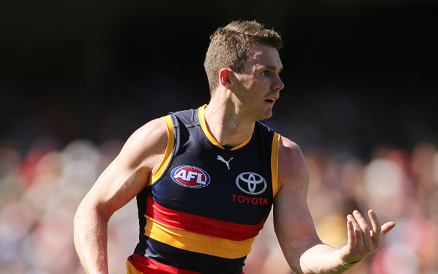 Adelaide Crows star Patrick Dangerfield ends speculation after reports of meeting with Hawthorn coach Alastair Clarkson