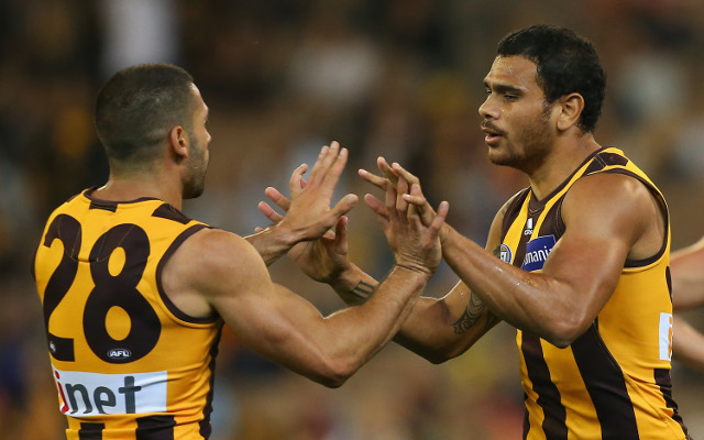 Paul Puopolo and Cyril Rioli
