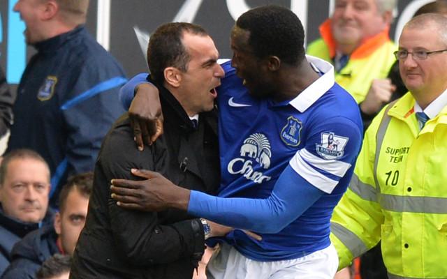 Roberto Martinez Romelu Lukaku Everton