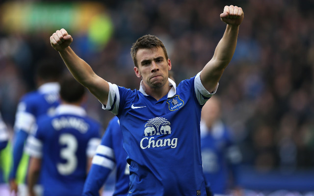 Everton right-back Seamus Coleman wins Player of the Year award