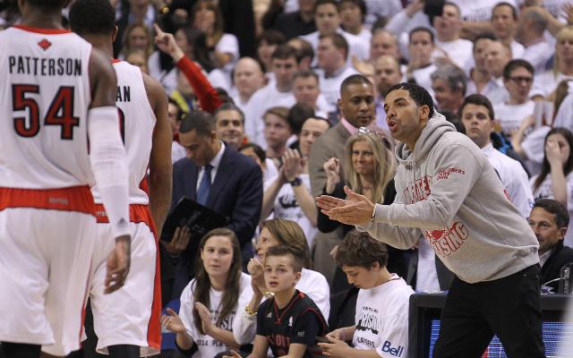 (Image) Brooklyn Nets fan trolls Toronto Raptors team ambassador Drake