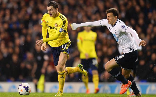 Vlad Chiriches Adam Johnson Tottenham Sunderland