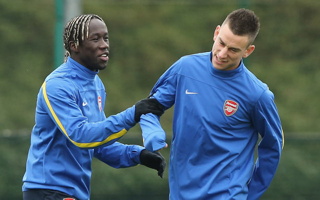 (Image) Bacary Sagna posts emotional goodbye to Arsenal fans on Instagram