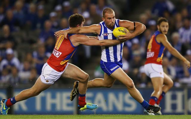 North Melbourne Kangaroos v Brisbane Lions: AFL round nine full match report