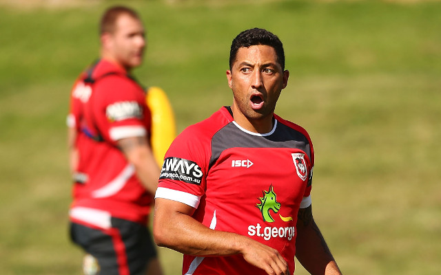 Benji Marshall not able to play play for St George Illawarra Dragons this weekend