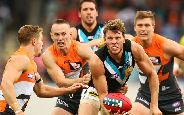 Port Adelaide Power v Greater Western Sydney Giants: AFL highlights – match report