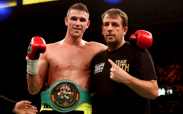 (Video) Boxing news: Callum Smith and Rocky Fielding weigh-in ahead of fight night