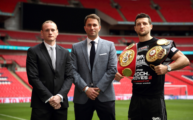 Boxing news: Eddie Hearn concedes that Carl Froch should retire