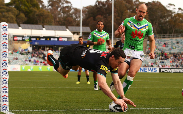 Canberra Raiders v Penrith Panthers: NRL round 10 full match report