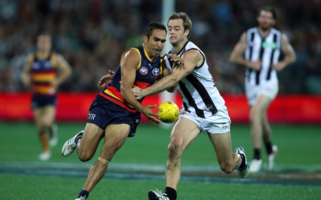 Adelaide Crows v Collingwood Magpies: AFL match report and video highlights