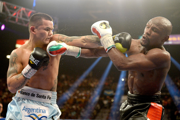 "(Video) Mayweather vs Maidana 2: Mayweather Sr. insists we will ""finish it off this time"""