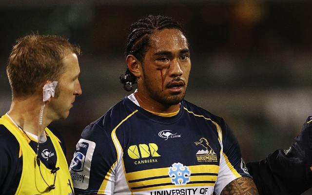 Joe Tomane suffers a fractured cheekbone in ACT Brumbies win over Sharks
