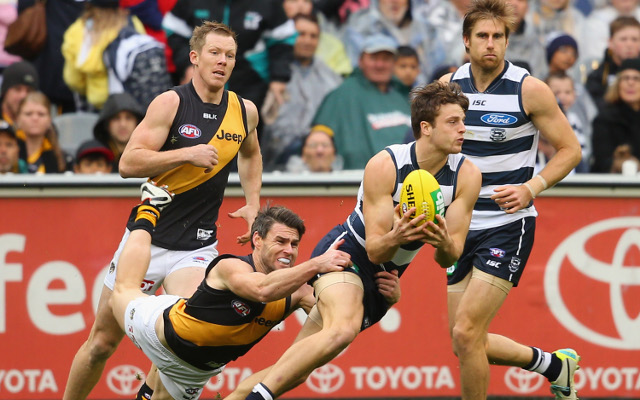Geelong Cats v Richmond Tigers: AFL live score, ladder, highlights – match report