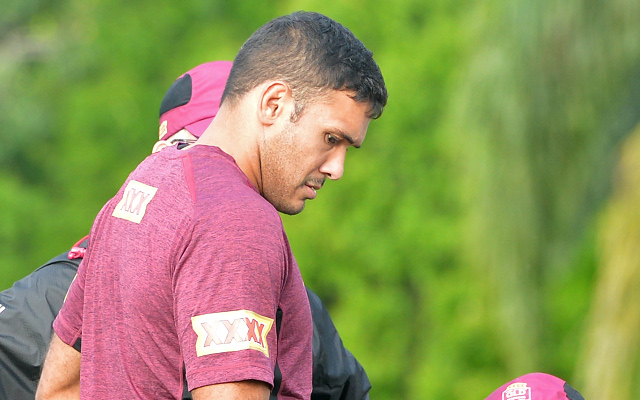 Justin Hodges misses second Queensland Origin training sessions