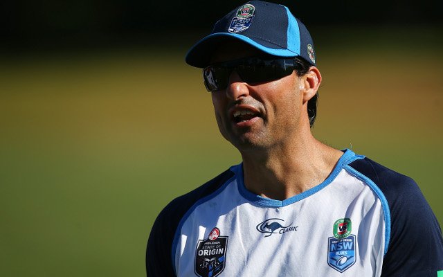Cronulla Sharks chasing New South Wales Origin-winning coach Laurie Daley