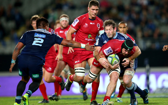Auckland Blues v Queensland Reds: Super 15 live scores, ladder, highlights – match report