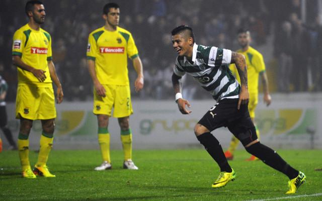 Argentina midfielder Marcos Rojo does 'rabona' penalty box clearance against Bosnia & Herzegovina