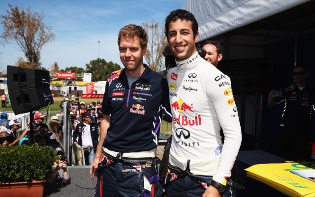 Daniel Ricciardo opens up about his relationship with Sebastian Vettel
